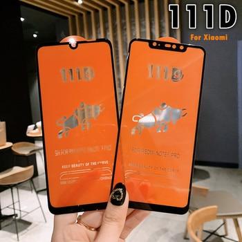 111D Screen Protector Tempered Glass For Xiaomi Redmi Note 8 5 6 Pro Redmi 7 6A 5 Plus Protective Glass Mi 8 A2 Lite Mi9 SE Film 1