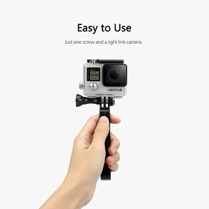 Image 4 - Vamson for Go pro Hero 8 7 6 5 4 3+ Accessories Plastic Knuckles Fingers Grip with Thumb Screw for YI 4K for SJCAM   VP410
