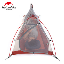 NatureHike 1 Person 4 seasons Outdoor Portable Double layer Camping Tent