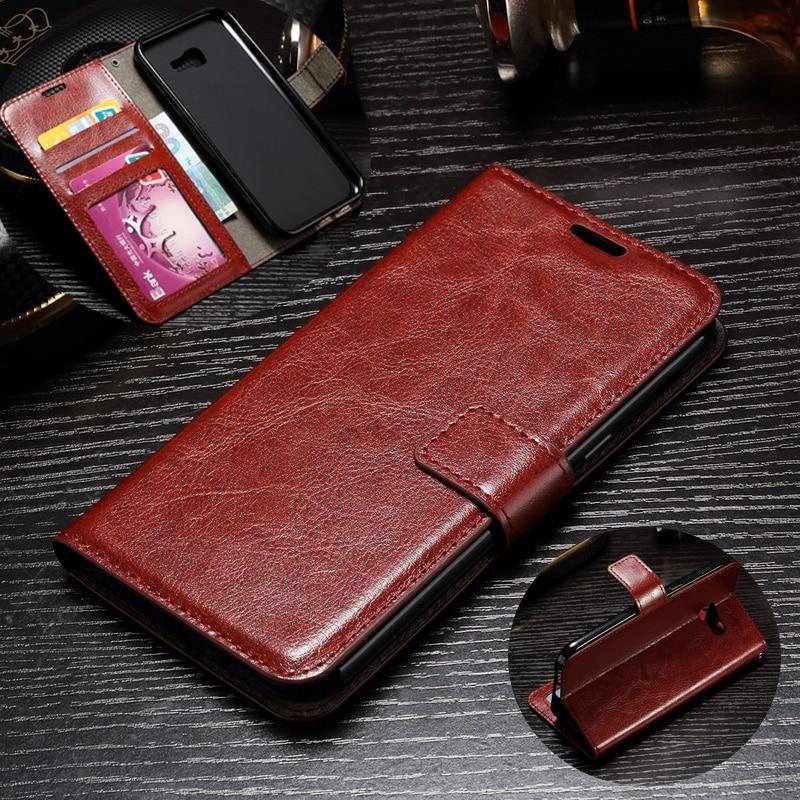 para Samsung A5 2017 Funda Cartera de cuero de lujo Ranuras para - Accesorios y repuestos para celulares - foto 1
