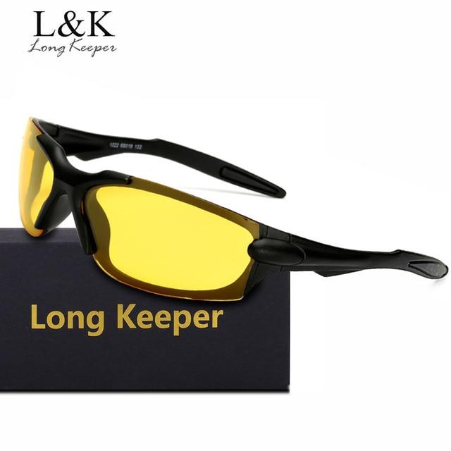 851d24049ba39 Longo Goleiro Alta Qualidade Polarizada Óculos De Sol Dos Homens de Luxo  Retângulo Eyewears óculos de
