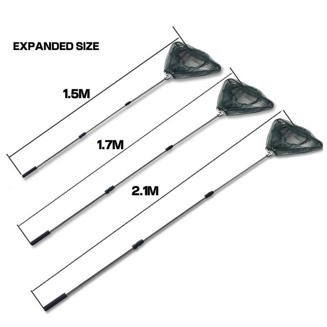 Amazing Fishing Net Aluminum Alloy 1.5/1.7/2.1M Fishing Accessories cb5feb1b7314637725a2e7: 1.5M 1.7M 2.1M