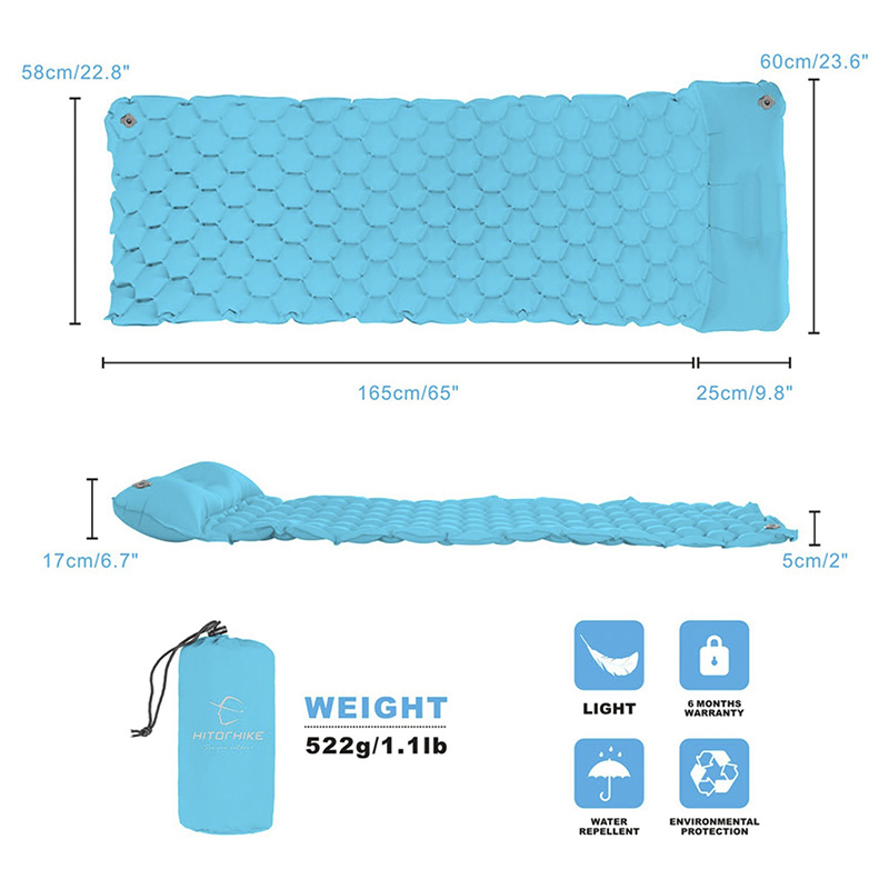 Inflatable sleeping pad  3