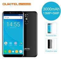 Oukitel C8 4G Mobile Phone 5 5 18 9 HD Screen 2GB RAM 16GB ROM Quad