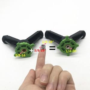 Image 3 - Đa năng Chân Máy Ảnh chụp Hình Giá V Ách Thống Trị Bắn Súng Còn Lại/Giá Đỡ Bóng Đầu Adapter