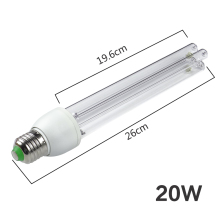 AC220V UV Ultraviolet Lamp Bulb Disinfection UV Lamp UVC Ozone Sterilization Mites Lights Germicidal Lamp 15W 20W E27 BRIGHTINWD