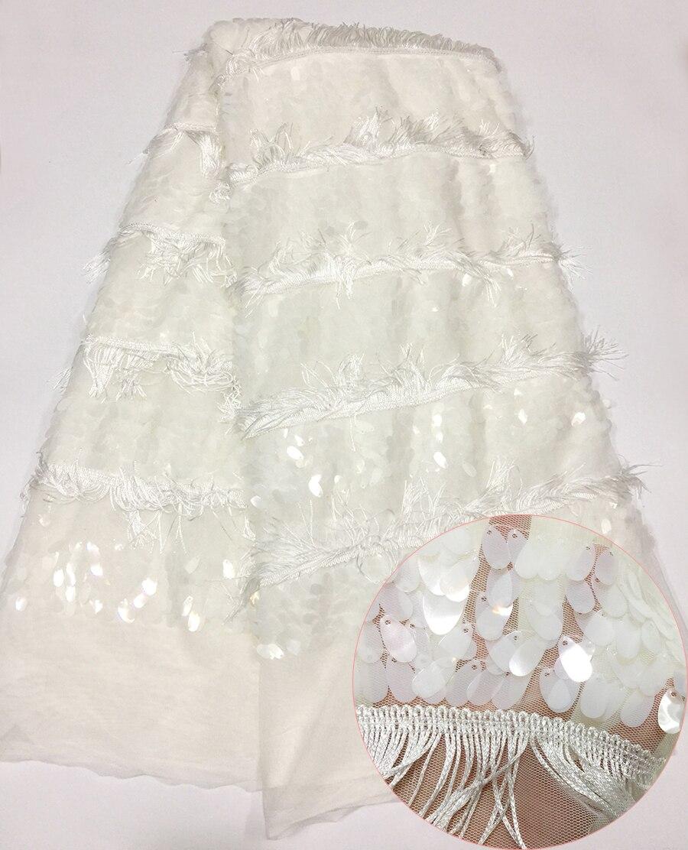Nouvelle Guipure chimique de broderie 3D, tissu africain de dentelle, beau tissu français de dentelle de haute qualité pour la robe de mariée