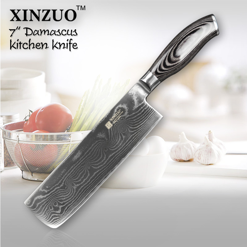 buy 7 inch kitchen knives 73 layers japanese vg10 damascus steel chef knife. Black Bedroom Furniture Sets. Home Design Ideas