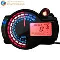 Adjustable Motorcycle Digital Speedometer Tachometer Gauge LCD Digital Odometer Motorbike Parts Accessories