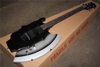 Factory custom shop High Quality New style EXTRA Cort GENE SIMMONS AXE Electric Guitar with Chrome Hardware In Stock 17 11