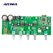 AIYIMA Power Amplifiers Audio Board Pre Amp Amplificador LF80 HIFI Tone Plate With Subwoofer Audio Output Bluetooth Input
