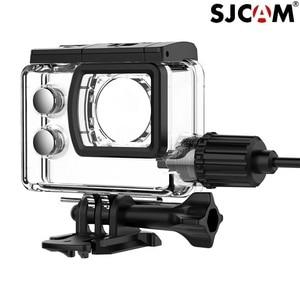 Image 5 - SJCAM Accessories Motorcycle Waterproof Case for Original SJCAM SJ7 Star Charging shell Charger Case SJCAM SJ7 Camera Clownfish
