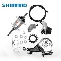 SHIMANO Nexus внутренне Велоспорт велосипед мотор концентратор Inter 3 3 Скорость переключения Роликовый Тормозной велосипед часть с дисковым тормо