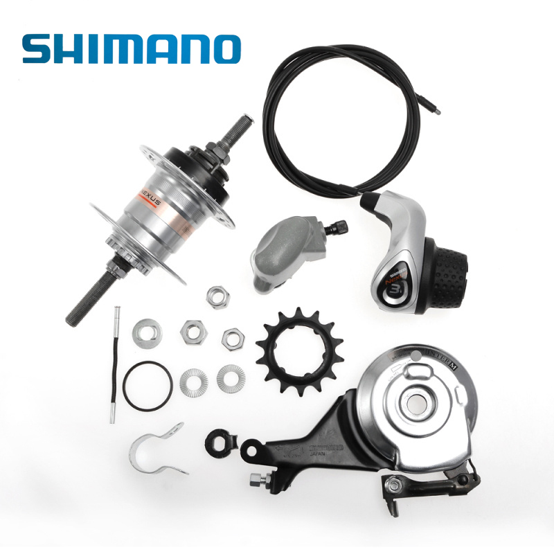SHIMANO Nexus Internally Cycling Bike Bicycle Geared Hub Inter-3 3-Speed Shifter Roller Brake Bike Bicycle Part With Disc Brake west biking bike chain wheel 39 53t bicycle crank 170 175mm fit speed 9 mtb road bike cycling bicycle crank