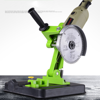BG 6180 Angle Grinder Stand Grinding Power Tool DIY Aluminum Bracket Iron Base Angle Grinder Holder Support Cutting Machine