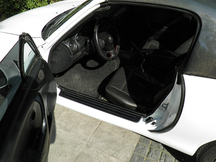Aliexpress.com : Buy EPR Car Styling For Mazda MX5 NB MK2 Miata Carbon Fiber Door Sill Glossy Fibre Finish Exterior Side Accessories Racing Trim from ... & Aliexpress.com : Buy EPR Car Styling For Mazda MX5 NB MK2 Miata ... Pezcame.Com