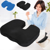 Home Office Chair Memory Foam Coccyx Orthoped Seat Pad Cushion Pain Relief