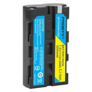 Image 4 - Bateria de câmera + carregador sony, 3200mah, NP F550 NP F330, np, f550, np f330, lcd, dual usb, para sony NP F550 NP 750 yongnuo luzes da câmera