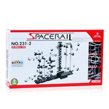 DIY Toys SpaceRail Space Rail Track Level 2 Steel Marble Roller Coaster 10000mm SpaceWarp with Retail Box