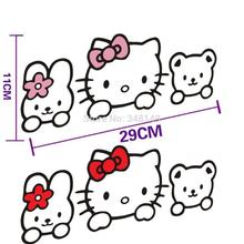 Hello Kitty Car Stickers Decal to Exterior