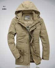 Бесплатная доставка новых людей марка подлинная мягкой зимнее пальто мужчины хлопок теплые пиджаки большой пиджак платье S-6XL