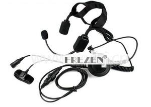 Image 2 - Walkie talkie Military Bone Conduction Tactical Headset boom Mic For Kenwood Portable Radio Baofeng UV 5R BF 888S UV 82 GT 3