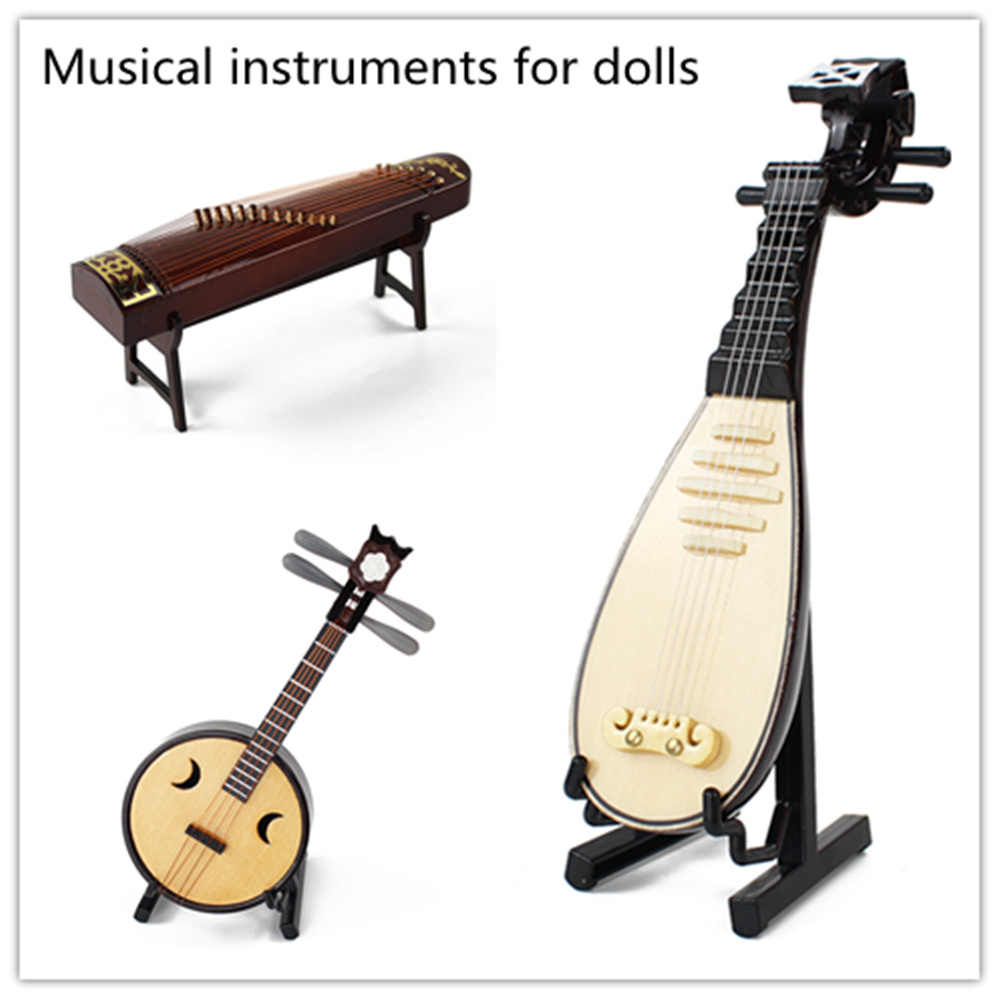 East Charm for costume doll reborn girls BJD Chinese instruments in the rute lute guzheng limited edition gift high quality toys