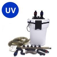 Aquarium external filter with UV lamp,fish tank filter,better than sunsun filter HW603b X700uv