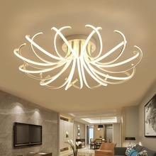 New Arrival Modern led ceiling chandelier lights for living room bedroom dining Study room Aluminum led Chandelier lamp fixtures