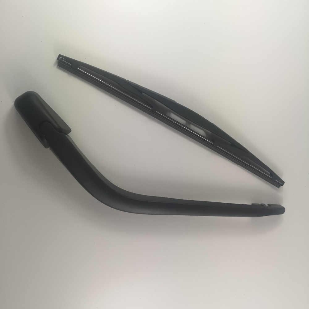 RW0050 Belakang Wiper Blade & ARM Set Lengkap untuk Honda Jazz/Fit 2002 2003 2004 2005 2006 2007 2008 r14B2-620