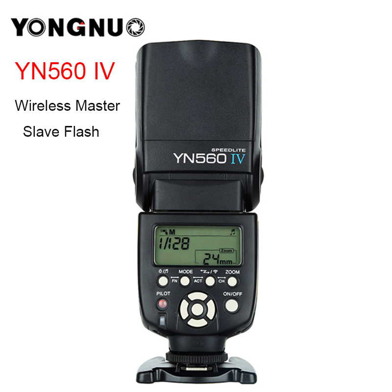YONGNUO YN560 IV YN560IV Universal 2.4G Wireless Master Slave Flash Speedlite for Nikon Canon Olympus Pentax Sony DSLR Camera цена