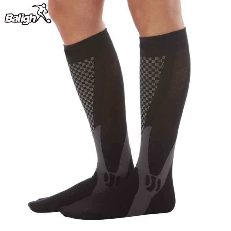 Men/Women Professional Compression Running Stockings High-quality Marathon Sports Socks Quick-Dry Bicycle Socks