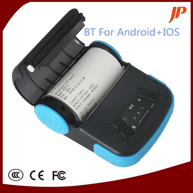 Envío libre 80mm térmica de recibos impresora androide del bluetooth para android y ios sistema
