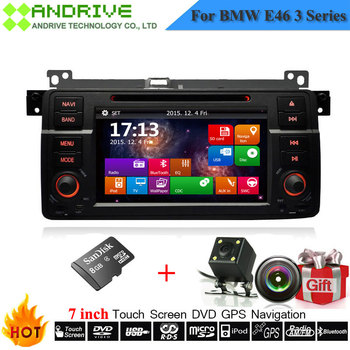 7'' Touch Screen Autoradio For BMW E46 M3 316i 318i 320i 323i 325i 330i With DVD Player GPS Navigation Camera Stereo Head Unit image