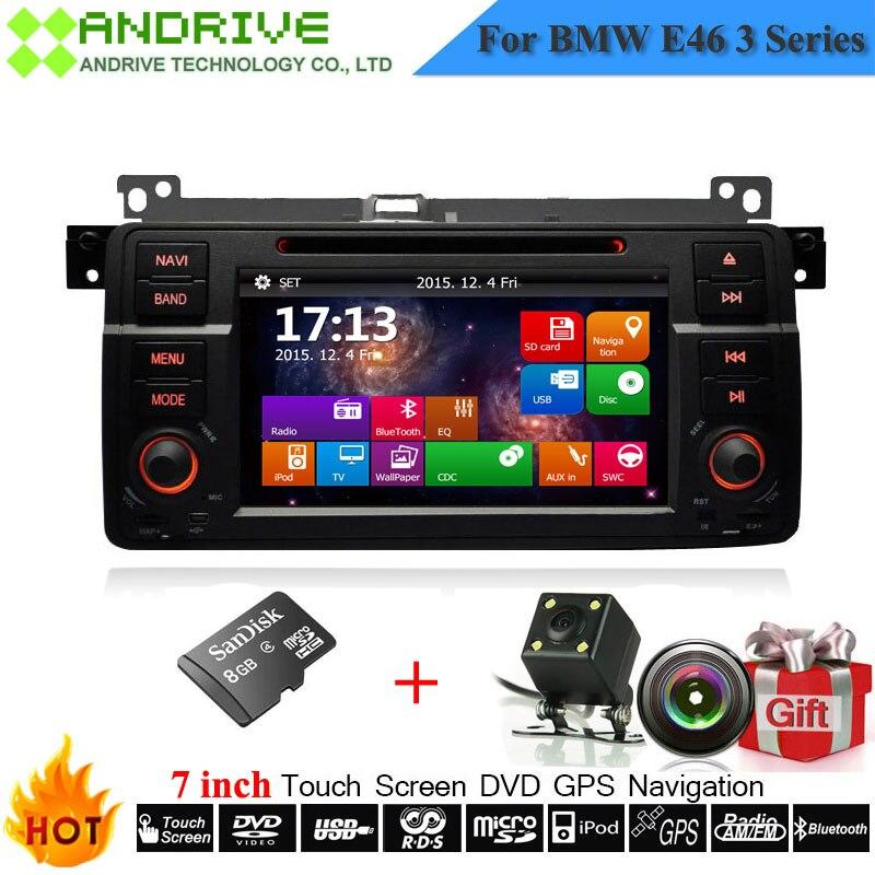 7 ''Touchscreen Autoradio Für BMW E46 M3 316i 318i 320i 323i 325i 330i Mit Dvd GPS Navigation Kamera Stereo Head einheit