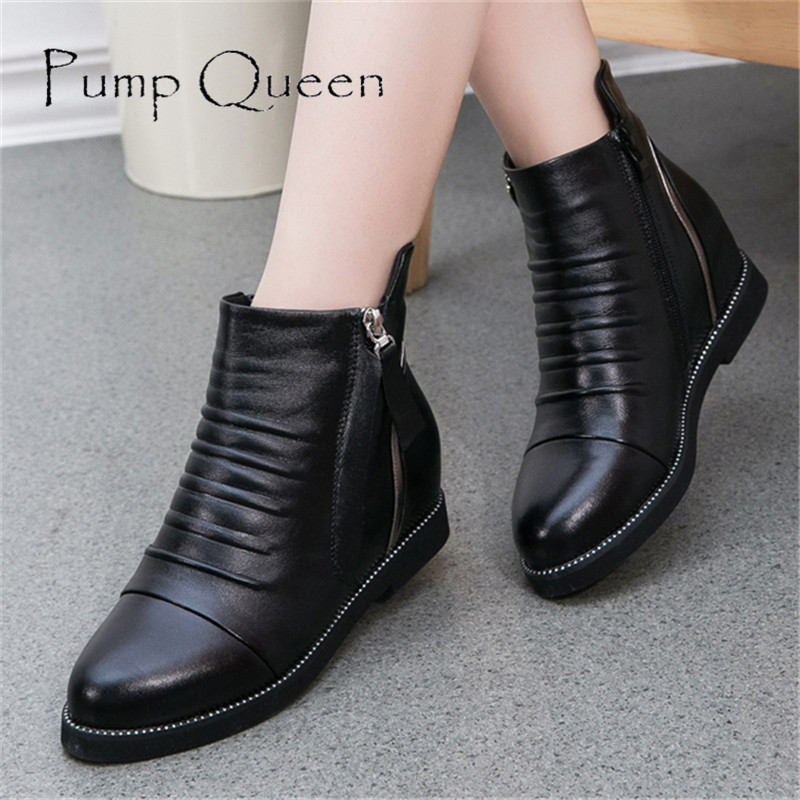 Beautiful Women39s Mid Calf Winter Worm Dress Casual Boots 79  EBay