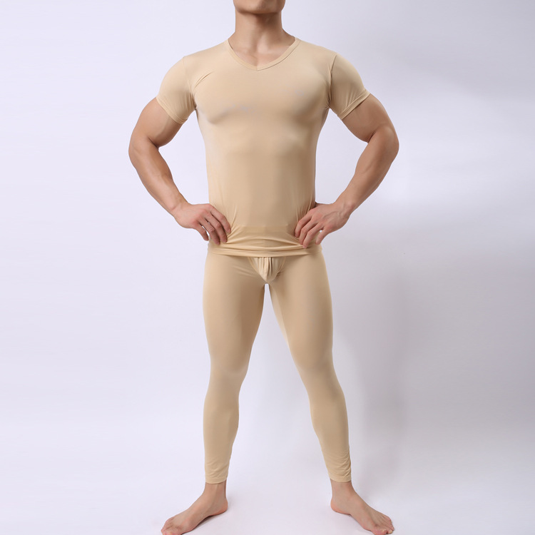 5 Warna Super Tipis Legging Pria Panjang Johns Set Musim Dingin Mens Celana Katun Termal Thermal Underwear Celana Sexy Tights Untuk Man In Panjang Johns From Pakaian Dalam Pakaian Tidur On Aliexpress