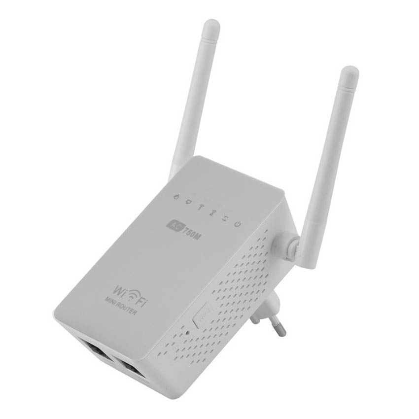 Wifi Repeater Extender Wireless-Routers Antenna Dual-Band AC750 2 750mbps With AC02 10pcs/Lot