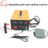 220V 1PC Adjustable pulse spot welder gold and silver jewelry/necklace/earring welding machine pulse spot welder