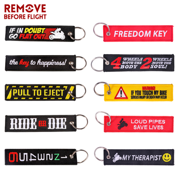 Custom Any Text Own,Custom Keychains for Motorcycles Cars ATV Scooters Great Gift Embroidery Key ring for Men or Women,Double Sided Key Tag for Motorcycle//Scooters//cars Prsonalized Keychain