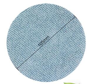 vacuum cleaner parts round mop cloth for wood floor brush 2 pairs