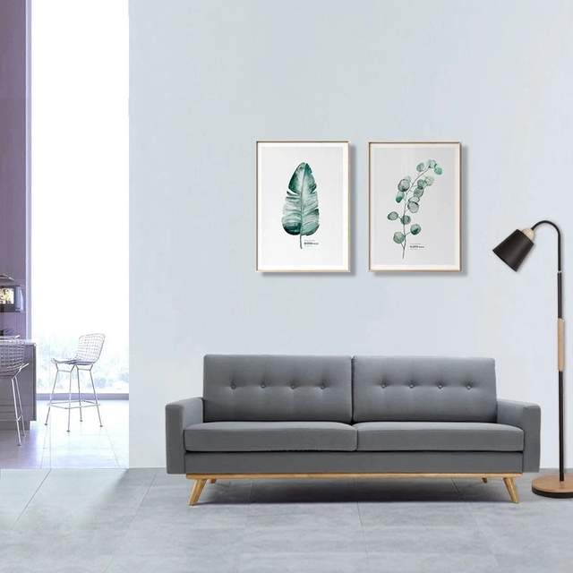 Comfortable Living Room Fabric Sofa