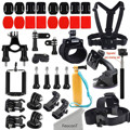 GoPro Accessories Kit for GoPro Hero 5 / Hero 5 session/ Hero Session/ Hero 4 3+ 3 2 Xiaomi Yi and other Outdoor Action Camera