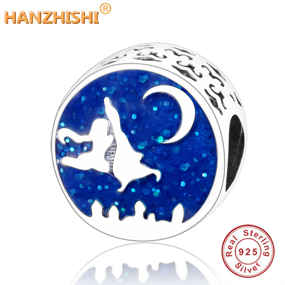 Beads & Jewelry Making Rational 2019 Real 925 Sterling Silver Bead Aladdin And Jasmine Magic Carpet Ride Charm Fit Original Pandora Charm Bracelet Diy Jewelry Structural Disabilities Beads