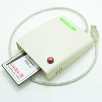Livraison Gratuite ATA PCMCIA Carte Mémoire Adaptateur Lecteur De Carte PC 68PIN CardBus À USB 2.0 Adaptateur avec le commutateur et boîtier