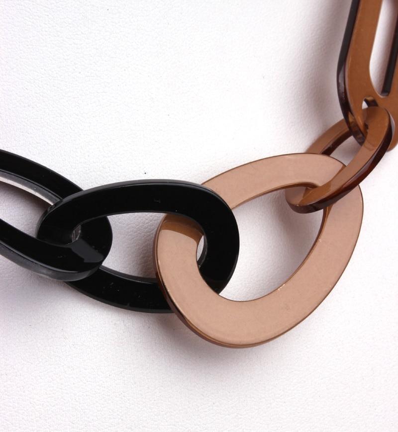 Κολιέ Ρητίνη Link κοσμήματα μακρύ κολιέ - Κοσμήματα μόδας - Φωτογραφία 6