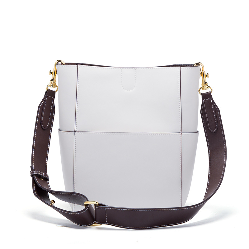 все цены на New Leather handbags Europe and America ladies handbags fashion single shoulder diagonal wild bag female