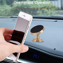 Universal Car Holder 360 Degree Magnetic Car Phone Holder GPS Stand Air Vent Magnet Mount for iPhone X 7 Xs Max