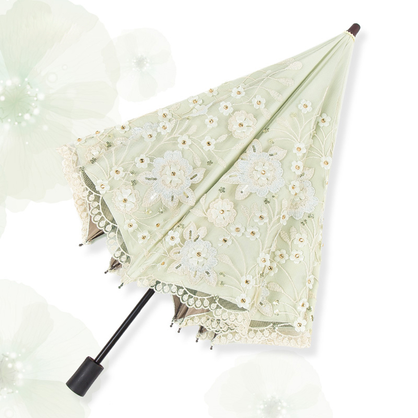 New Arrival Mini Umbrella Rain Women Fashion Arched Princess Umbrellas Female Parasol Top grade Embroidery wedding Umbrella in Umbrellas from Home Garden