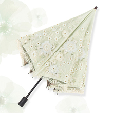 New Arrival Mini Umbrella Rain Women Fashion Arched Princess Umbrellas Female Parasol Top-grade Embroidery wedding